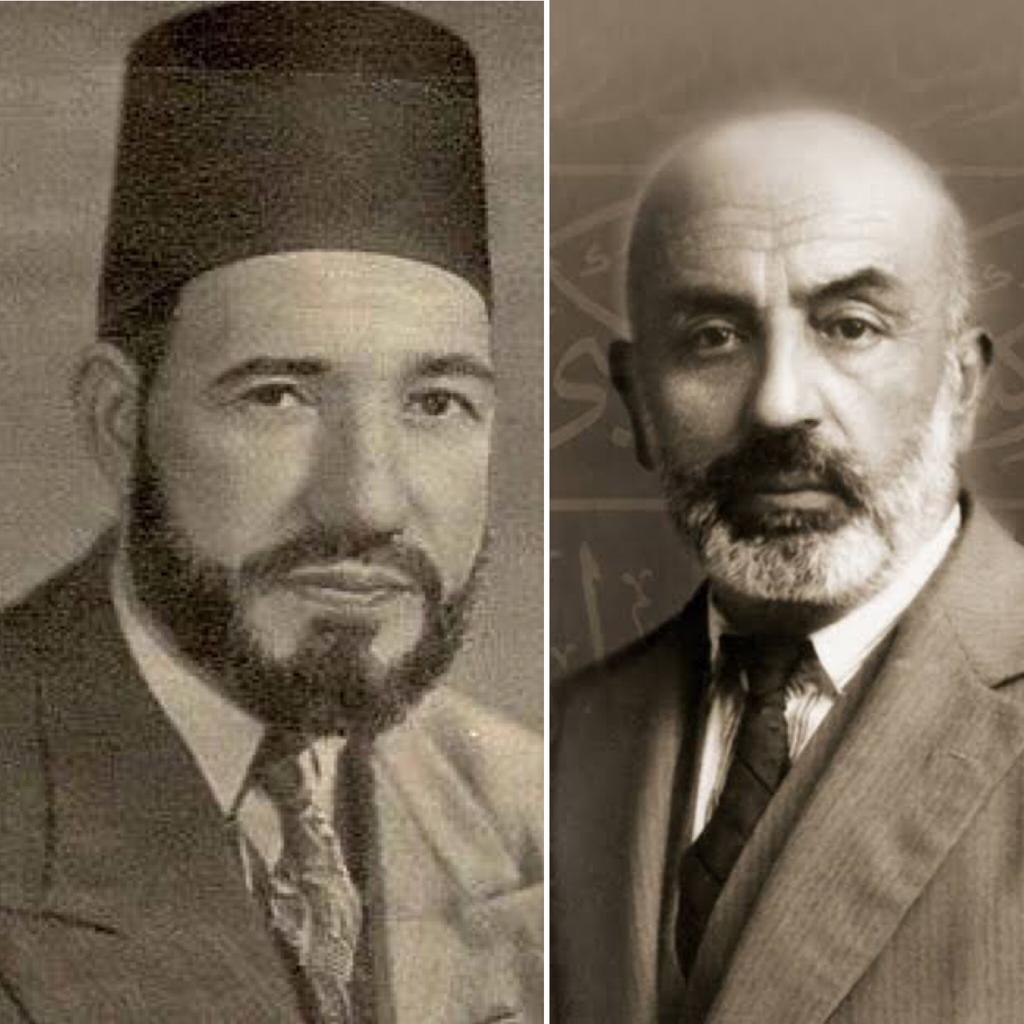 Mehmet Akif ile Hasan El-Benna Görüşmesi