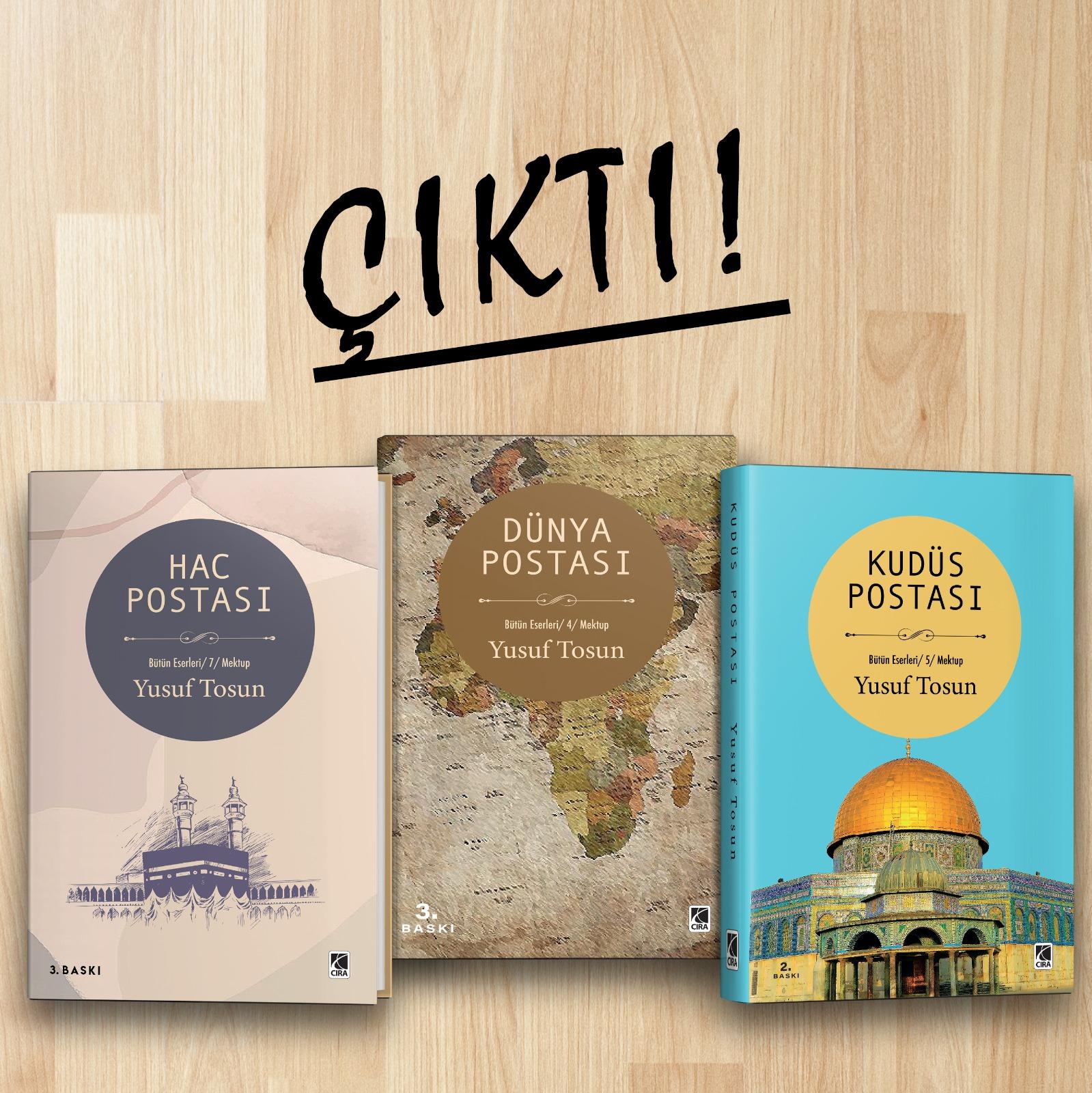 Dünya Coğrafyasından Üç Kitap Dolusu Mektup